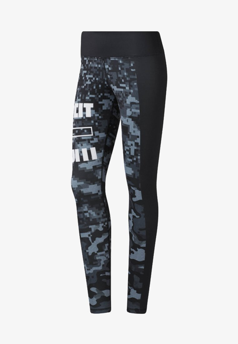 Reebok - LUX TIGHTS - Leggings - black