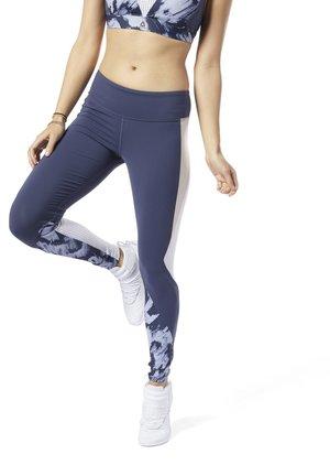 LES MILLS  LUX TIGHTS  - Leggings - blue