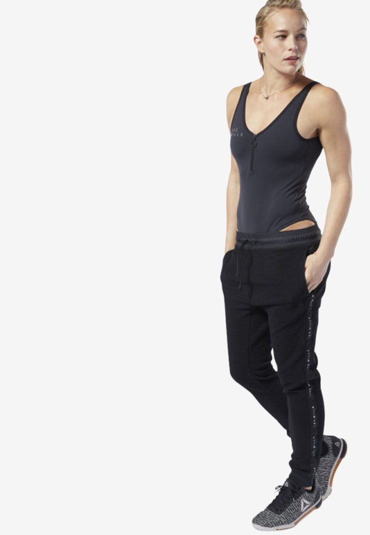 Reebok - LES MILLS® BODYSUIT - Top - black