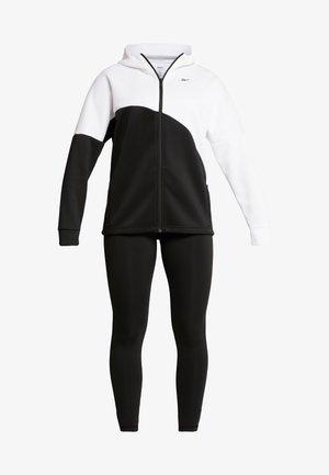 TRACKSUIT - Träningsset - white/black