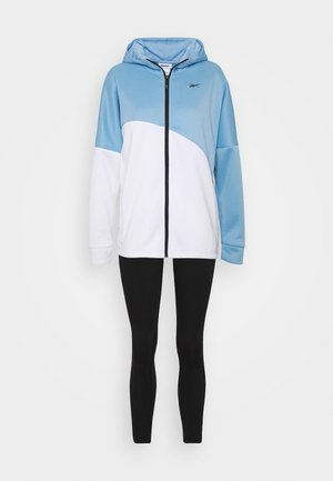 TRACKSUIT - Tracksuit - blue/white