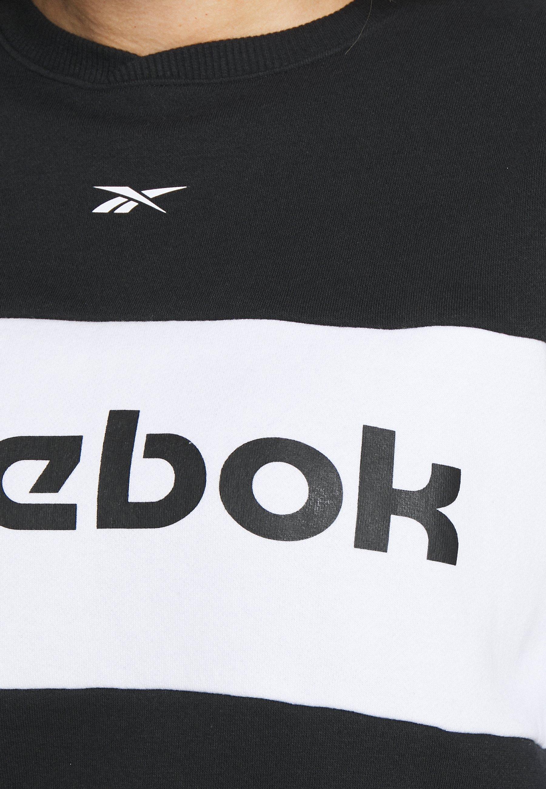 Reebok Linear Logo Crew - Træningssæt Black