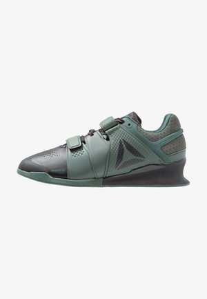 LEGACYLIFTER - Sports shoes - coal/chalk/green