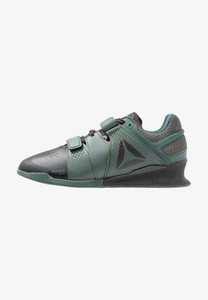 LEGACYLIFTER - Sportovní boty - coal/chalk/green