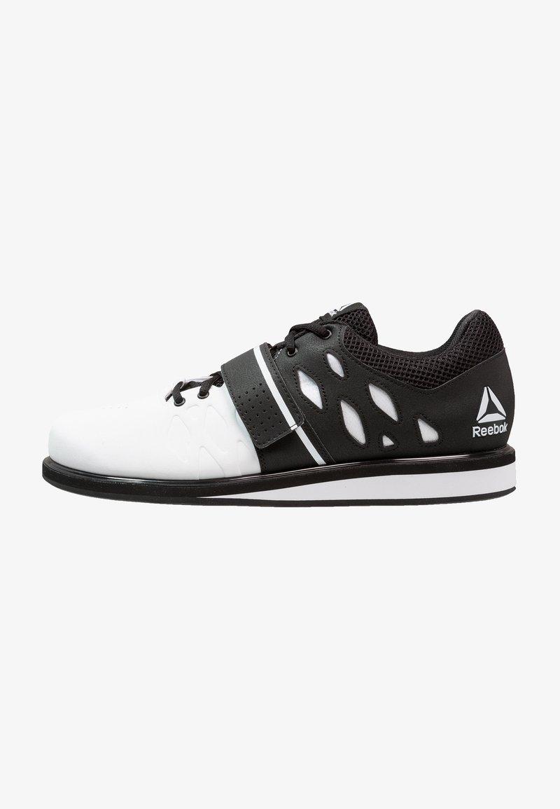 Reebok - LIFTER PR TRAINING SHOES - Sportovní boty - white/black
