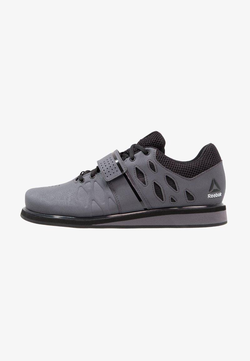 Reebok - LIFTER PR TRAINING SHOES - Sportovní boty - ash grey/black/white