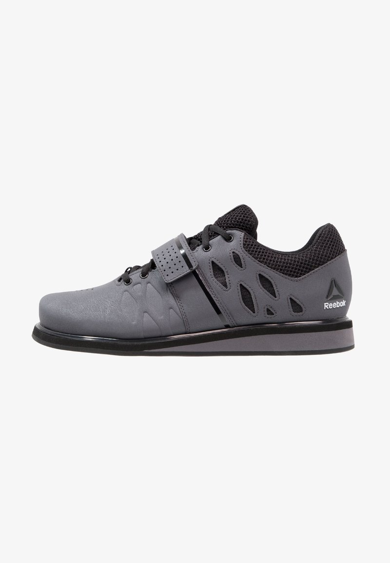 Reebok - LIFTER PR TRAINING SHOES - Sportschoenen - ash grey/black/white