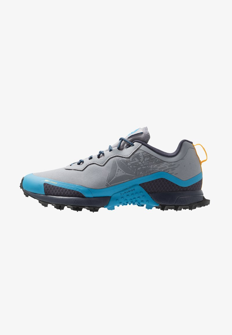 Reebok - ALL TERRAIN CRAZE - Zapatillas de trail running - cold grey/navy/cyan