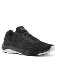 Reebok - FAST FLEXWEAVE - Neutral running shoes - black - 2