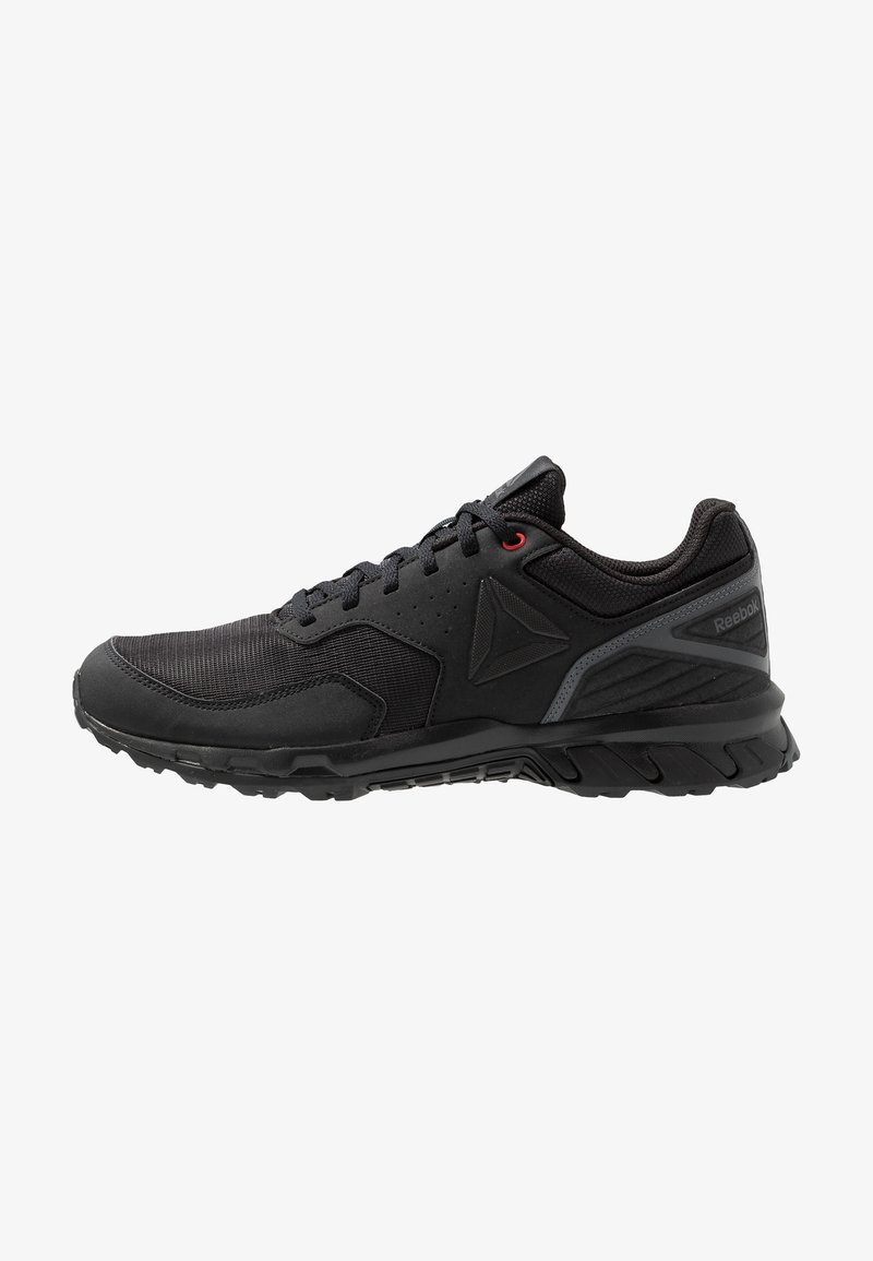 Reebok - RIDGERIDER TRAIL 4.0 - Løpesko for mark - black/grey/red