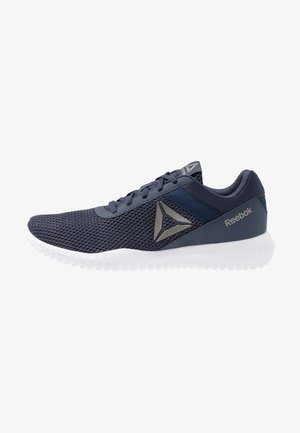 FLEXAGON ENERGY PERFORMANCE SHOES - Zapatillas de entrenamiento - heritage navy/collegiate navy/white