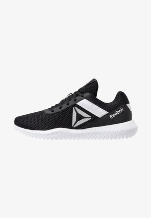 FLEXAGON ENERGY PERFORMANCE SHOES - Sports shoes - black/white/silver metallic