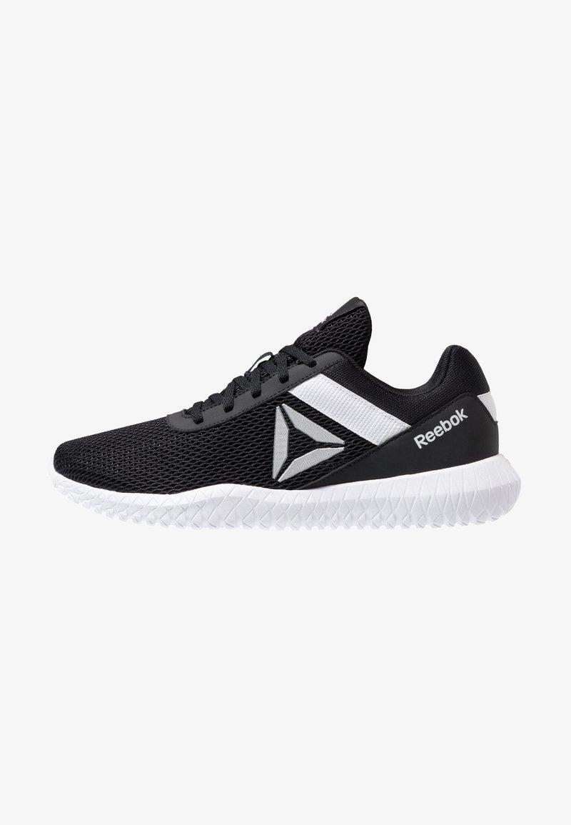 Reebok - FLEXAGON ENERGY PERFORMANCE SHOES - Sports shoes - black/white/silver metallic