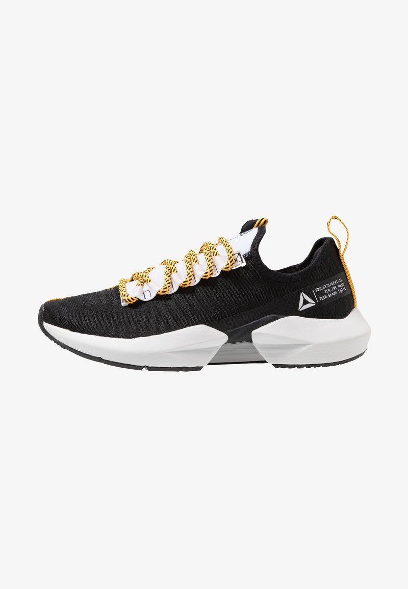 Reebok - SOLE FURY SE - Laufschuh Neutral - black/white/solar gold