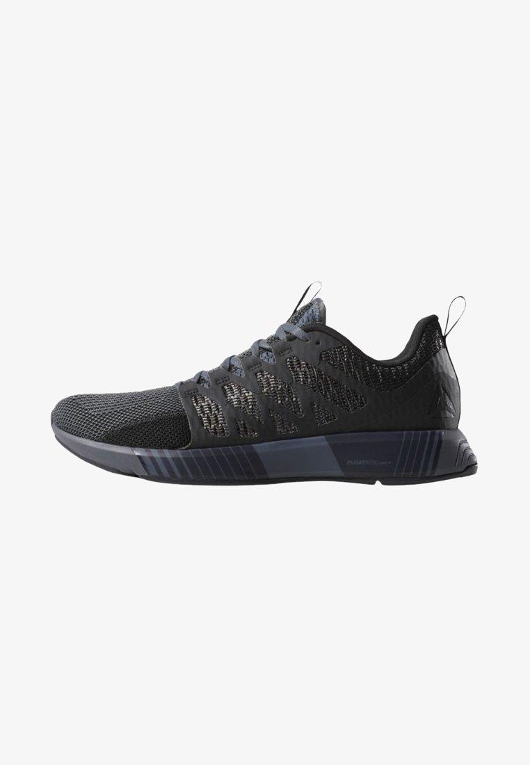 Reebok - FUSION FLEXWEAVE CAGE - Sports shoes - black/grey