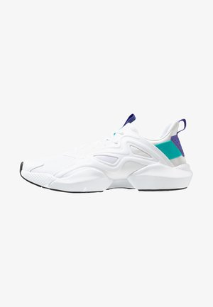 SOLE FURY ADAPT - Obuwie do biegania treningowe - white/solid teal/ultra purple