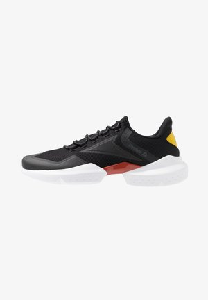 SPLIT FUEL - Neutral running shoes - black/red/grey/yellow