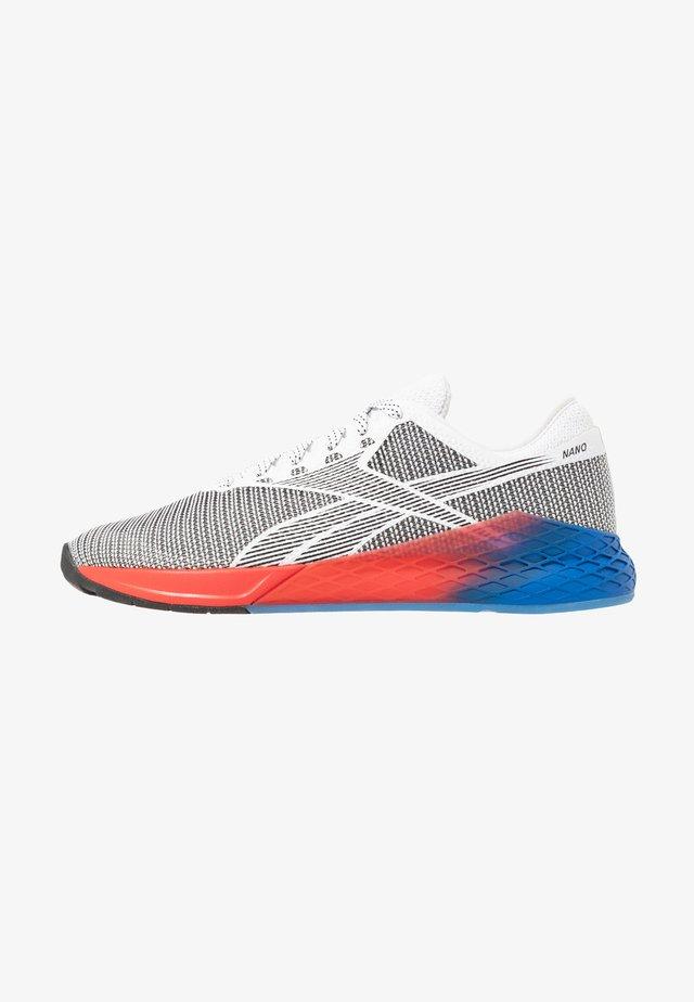 NANO 9 - Sportovní boty - white/black/humble blue