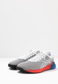 Reebok - NANO 9 - Sportovní boty - white/black/humble blue - 2