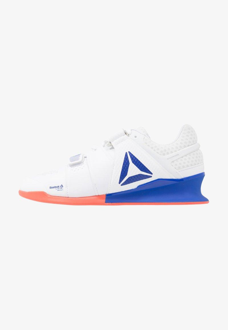 Reebok - LEGACYLIFTER - Chaussures d'entraînement et de fitness - white/cobalt/rosette