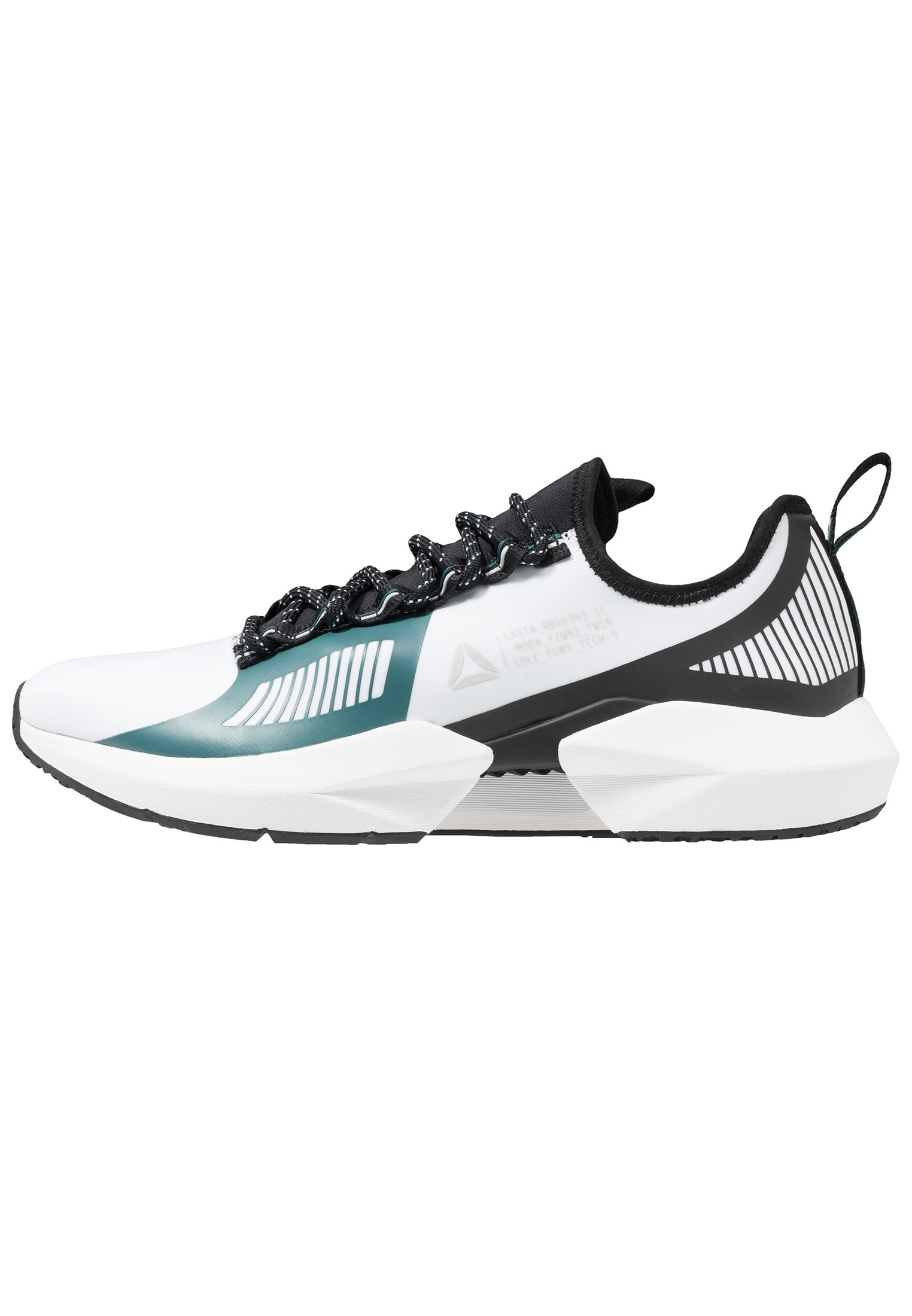 SOLE FURY TS Scarpe da fitness whiteblackgreen