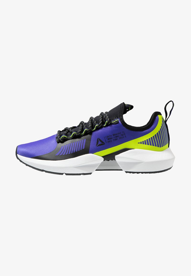 Reebok - SOLE FURY TS - Zapatillas de entrenamiento - purple/black/neon lime