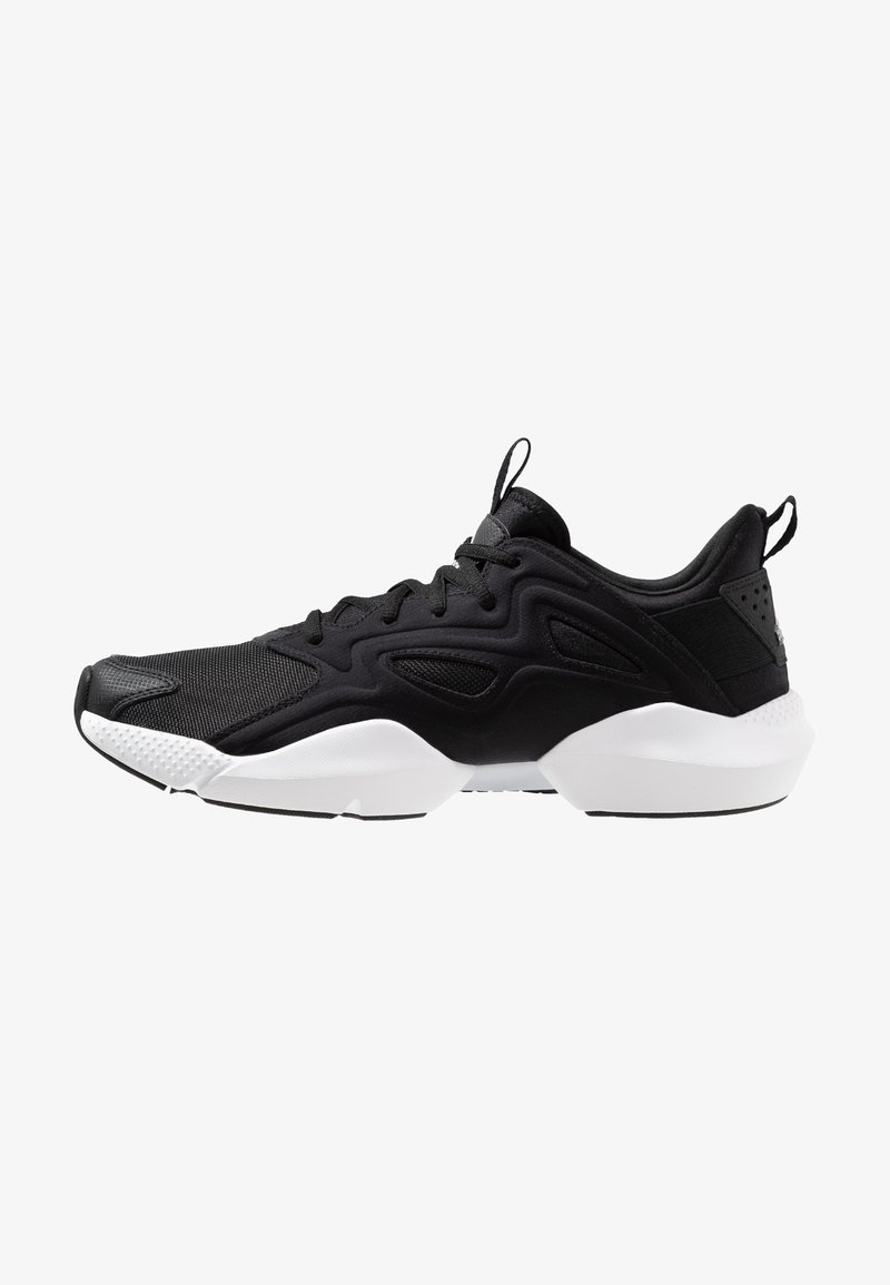 Reebok - SOLE FURY ADAPT - Chaussures de running neutres - black/white/metallic silver