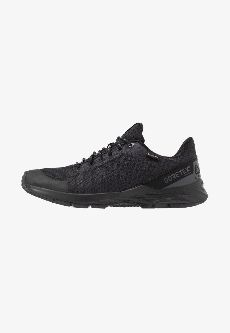 Reebok - ASTRORIDE GTX 2.0 - Trail running shoes - black/true grey/toxic yellow