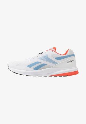 RUNNER 4.0 - Chaussures de running neutres - white/vivid orange/blue