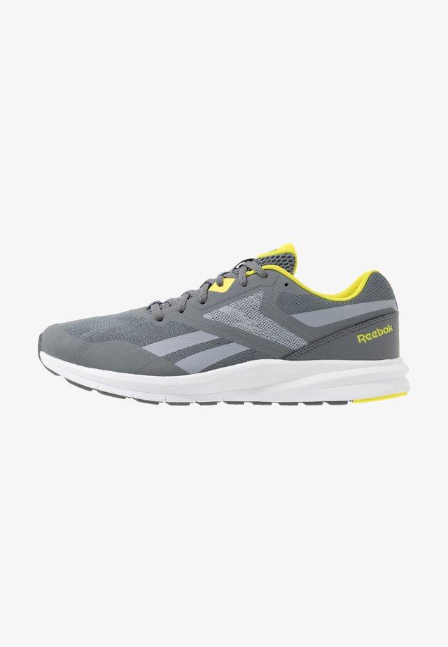 RUNNER 4.0 - Neutrální běžecké boty - cold grey/collegiate shadow/hero yellow