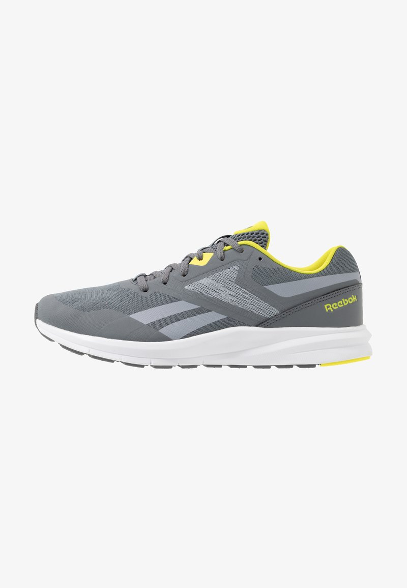Reebok - RUNNER 4.0 - Neutral running shoes - cold grey/collegiate shadow/hero yellow