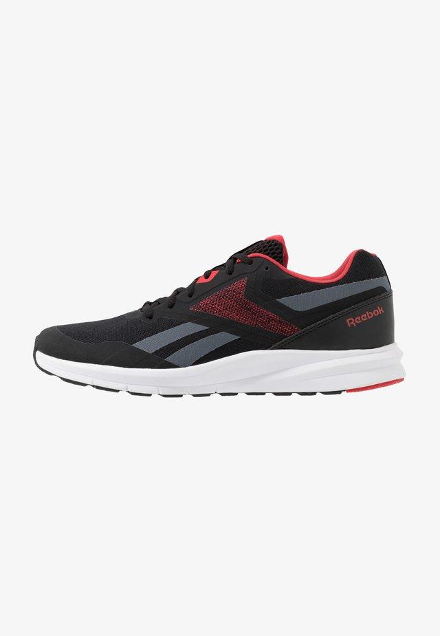 RUNNER 4.0 - Neutrální běžecké boty - black/true grey/exclusiv red