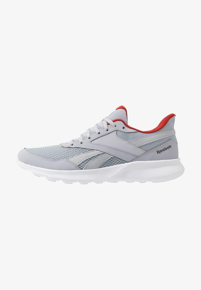 QUICK MOTION 2.0 - Zapatillas de running neutras - cold grey/white/legand activ red
