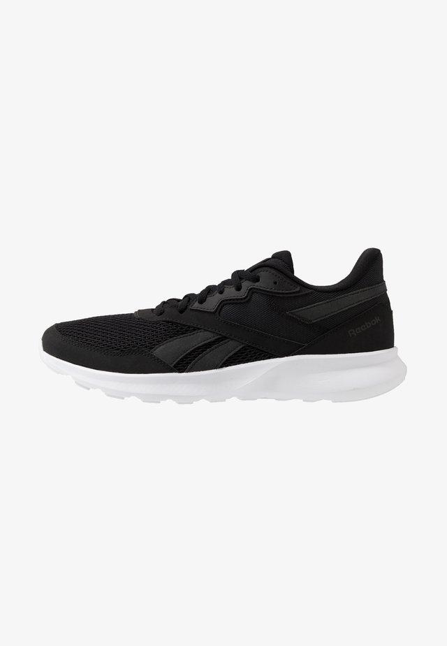 QUICK MOTION 2.0 - Neutrální běžecké boty - black/white
