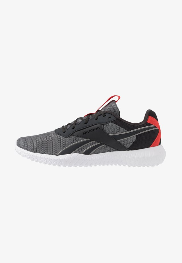 FLEXAGON ENERGY TR 2.0 - Zapatillas de entrenamiento - cold grey/radiant red