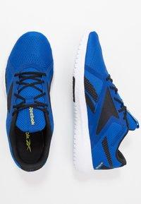 Reebok - FLEXAGON FORCE 2.0 - Scarpe da fitness - humble blue/black/hero yellow - 1