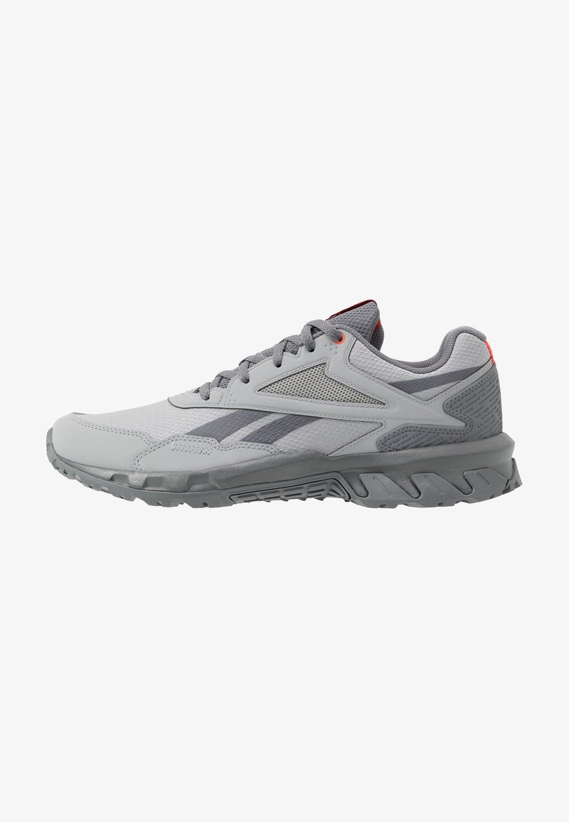 Reebok - RIDGERIDER 5.0 - Zapatillas de trail running - grey/vivid orange