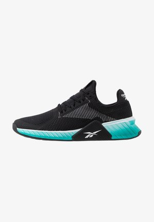 FLASHFILM TRAIN - Chaussures d'entraînement et de fitness - black/white/sea teal