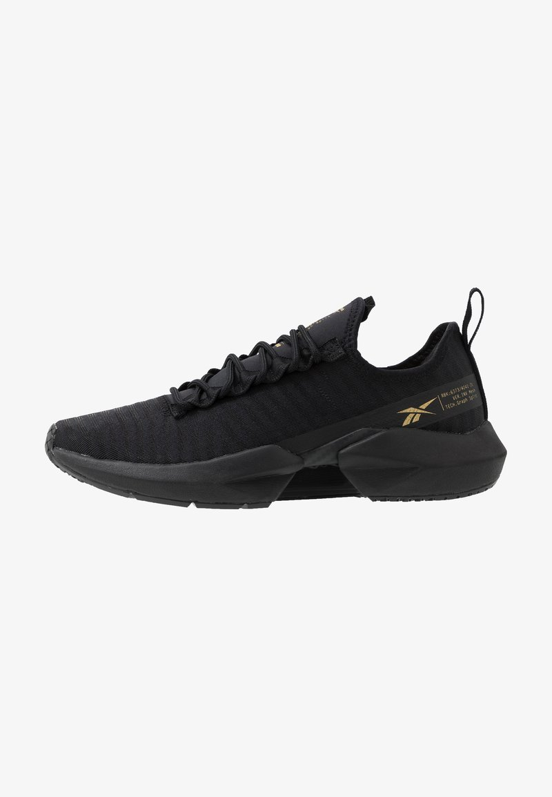 Reebok - SOLE FURY - Zapatillas de running neutras - black/gold