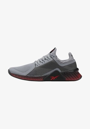 FLASHFILM TRAINER SHOES - Neutral running shoes - grey