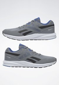 Reebok - REEBOK RUNNER 4.0 SHOES - Obuwie do biegania treningowe - gray - 1