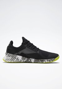 Reebok - FLASHFILM TRAINER SHOES - Zapatillas de running neutras - black - 6