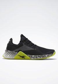 Reebok - FLASHFILM TRAINER SHOES - Zapatillas de running neutras - black - 11