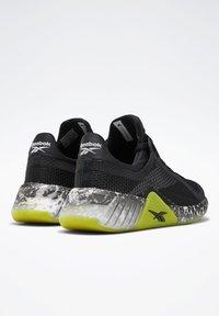 Reebok - FLASHFILM TRAINER SHOES - Zapatillas de running neutras - black - 3