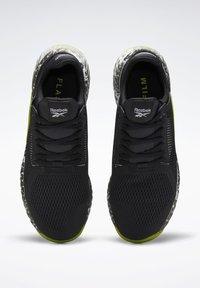 Reebok - FLASHFILM TRAINER SHOES - Zapatillas de running neutras - black - 8