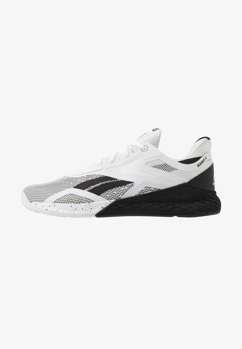 Reebok - NANO X - Sportschoenen - black/white