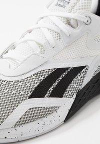 Reebok - NANO X - Sportschoenen - black/white - 5