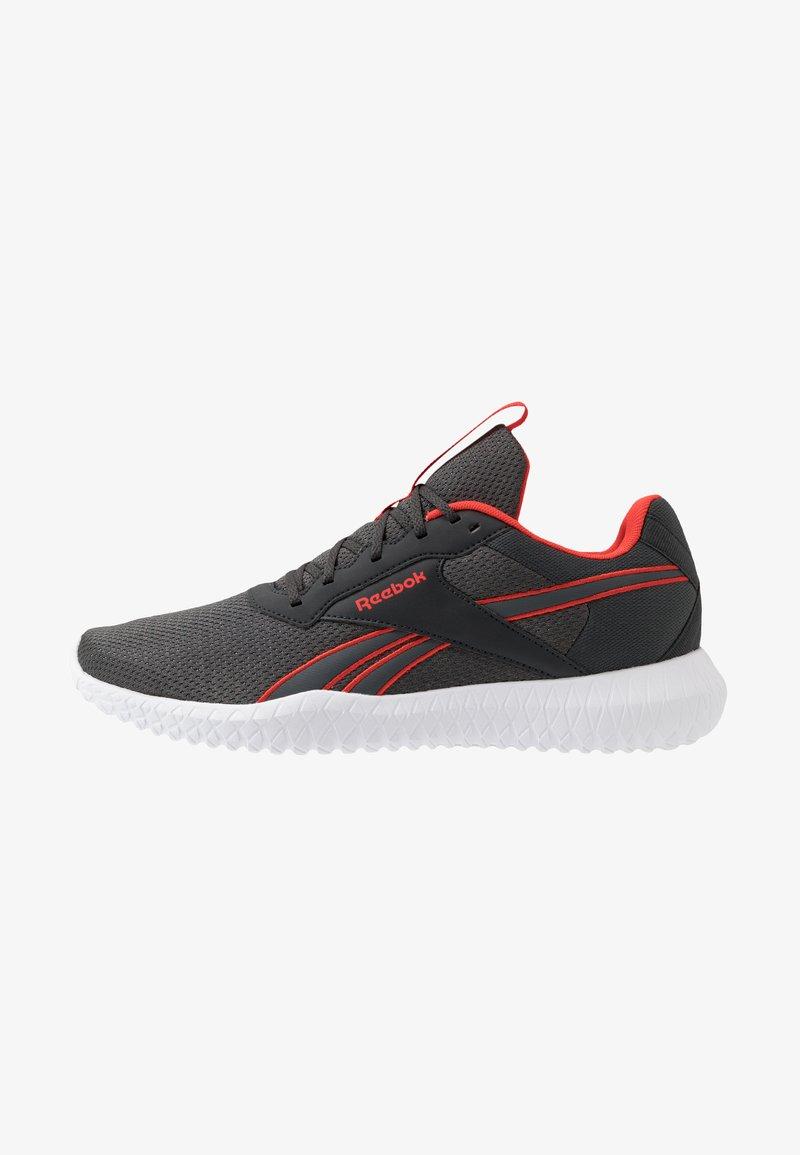 Reebok - FLEXAGON ENERGY 2.0 - Zapatillas de entrenamiento - true grey/pure grey/red