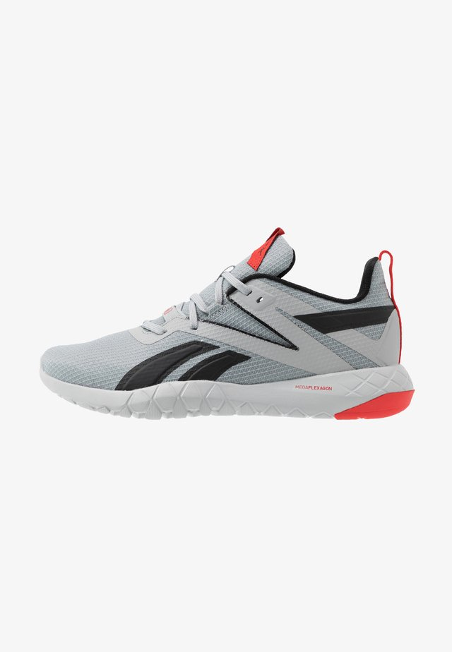 MEGA FLEXAGON - Sportschoenen - grey/red/black