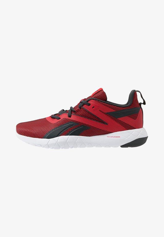 MEGA FLEXAGON - Zapatillas de entrenamiento - red/grey/white